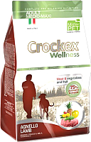 Корм для собак Crockex Wellness Medio-Maxi Adult Lamb & Rice / MCF3812 (12кг) -