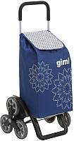 Сумка-тележка Gimi Tris Floral GM127 (синий) -