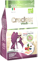 Корм для собак Crockex Wellness Medio-Maxi Adult Rabbit & Rice / MCF3612 (12кг) -
