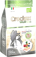Корм для собак Crockex Wellness Medio-Maxi Adult Chicken & Rice / MCF3412 (12кг) -