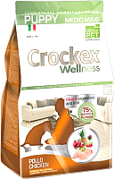 Корм для собак Crockex Wellness Medio-Maxi Puppy Chicken & Rice / MCF3312 (12кг) -