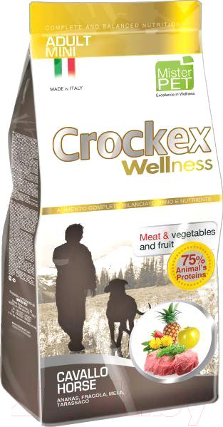Корм для собак Crockex Wellness, Mini Adult Horse & Rice / MCF3007 (7.5кг), Италия  - купить со скидкой