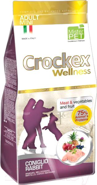 Корм для собак Crockex Wellness, Mini Adult Rabbit & Rice / MCF2907 (7.5кг), Италия  - купить со скидкой