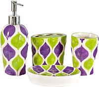 Набор аксессуаров для ванной Benedomo Aquarelle -