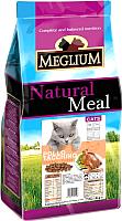 Корм для кошек Meglium Cat Chicken & Turkey / MGS0315 (15кг) -
