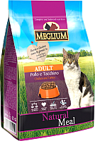 Корм для кошек Meglium Cat Chicken & Turkey / MGS0303 (3кг) -