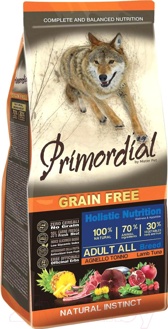 Корм для собак Primordial, Dog Adult Tuna & Lamb MSP5312 (12кг), Италия  - купить со скидкой