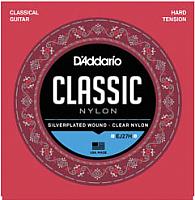 Струны для классической гитары D'Addario EJ27H Hard Tension -