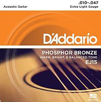 Струны для акустической гитары D'Addario EJ15 -