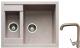 Мойка кухонная Gerhans C01 + смеситель HU01K4698-21 (песочный) -