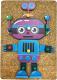 Развивающая игрушка WoodLand Toys Веселые гвоздики. Роботы / 118107 -