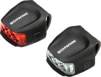 Набор фонарей для велосипеда Schwinn 26 Lumen Quick Wrap Light Set / SW78243-4 -