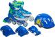 Роликовые коньки Sundays PW-153B-5D (M, set blue) -