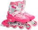 Роликовые коньки Action PW-153B-21 (M, pink) -