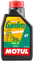 Моторное масло Motul Garden 4T SAE 30 / 102787 (1л) -