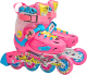Роликовые коньки Action PW-H88 (S, pink) -
