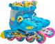 Роликовые коньки Action PW-H88 (S, blue) -