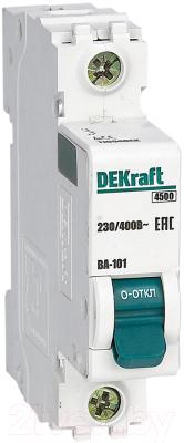 Выключатель автоматический Schneider Electric DEKraft 11050DEK