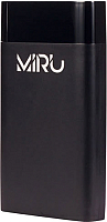 Портативное зарядное устройство Miru LP-1008B 10000mAh (черный) -