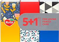 Бумажные салфетки Ruta 6x10 (6шт, белый) -