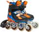 Роликовые коньки Action PW-132B-35 (XS, оранжевый/синий) -