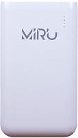 Портативное зарядное устройство Miru LP-1018A 10000mAh (белый) -
