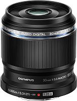 Макрообъектив Olympus М.Zuiko Digital ED 30mm f3.5 Macro (черный) -