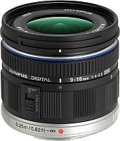 Широкоугольный объектив Olympus М.Zuiko Digital ED 9-18mm f4.0-5.6 (черный) -
