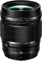 Стандартный объектив Olympus М.Zuiko Digital ED 25mm f1.2 PRO (черный) -