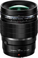 Универсальный объектив Olympus Digital ED 17mm f1.2 PRO (черный) -