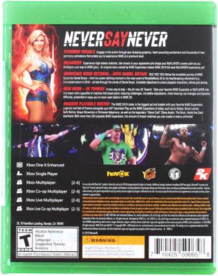 Игра для игровой консоли Microsoft Xbox One WWE 2K19