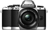 Беззеркальный фотоаппарат Olympus E-M5 Kit 14-42mm II R (серебристый/черный) -