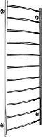 Полотенцесушитель водяной Ростела Соната 40x120/11 (1
