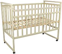 Детская кроватка ФА-Мебель Дарья 3 (слоновая кость) -