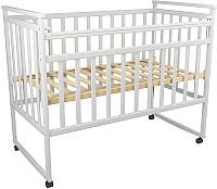 Детская кроватка ФА-Мебель Дарья 3 (белый) -