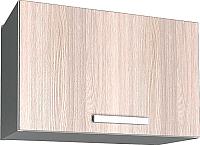 Шкаф под вытяжку Интерлиния Мила Лайт ВШГ50-360 (ясень светлый) -
