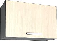 Шкаф под вытяжку Интерлиния Мила Лайт ВШГ50-360 (вудлайн кремовый) -