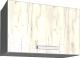 Шкаф под вытяжку Интерлиния Мила Лайт ВШГ60-360 (дуб белый) -