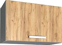 Шкаф под вытяжку Интерлиния Мила Лайт ВШГ60-360 (дуб золотой) -
