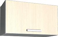 Шкаф под вытяжку Интерлиния Мила Лайт ВШГ60-360 (вудлайн кремовый) -