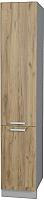 Шкаф-пенал кухонный Интерлиния Мила Лайт НШП-№2-2145 (дуб золотой) -