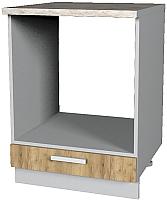 Шкаф под духовку Интерлиния Мила Лайт НШ60д (дуб золотой) -