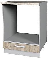 Шкаф под духовку Интерлиния Мила Лайт НШ60д (дуб серый) -