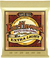 Струны для акустической гитары Ernie Ball 2006 Earthwind Extra Light -