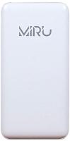 Портативное зарядное устройство Miru LP-1036A (белый) -