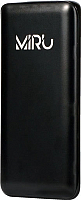 Портативное зарядное устройство Miru LP-1036A (черный) -