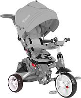 Детский велосипед с ручкой Lorelli Hot Rock / 10050300005 (серый) -