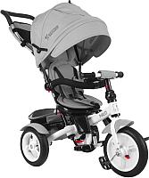 Детский велосипед с ручкой Lorelli Neo Air Wheels / 10050340005 (серый) -