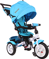 Детский велосипед с ручкой Lorelli Neo Air Wheels / 10050340006 (голубой) -