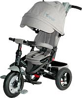 Детский велосипед с ручкой Lorelli Jaguar Air Wheels / 10050390005 (серый) -